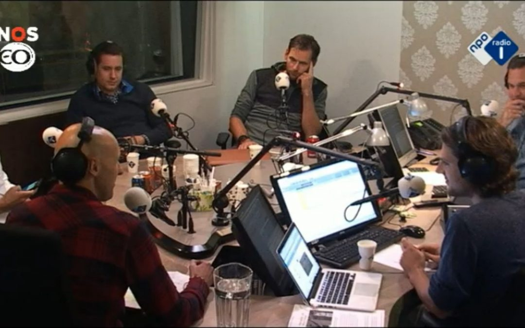 Pieter, Ruben and Michel at NPO Radio 1